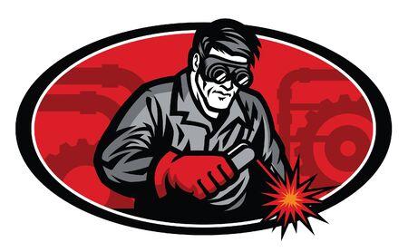 worker welding Stock fotó - 134397779