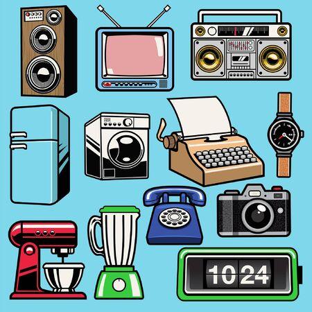 set bundle of electronic objects