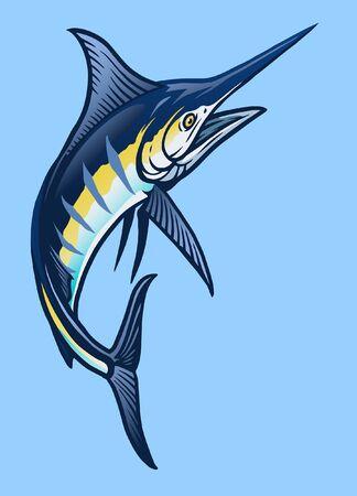 big blue marlin fish