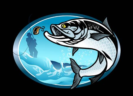 design of fishing the tarpon fish