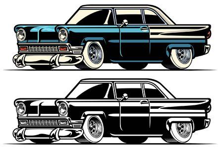 american classic old car