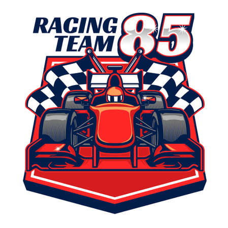vector of formula racing car design Banco de Imagens - 150666752