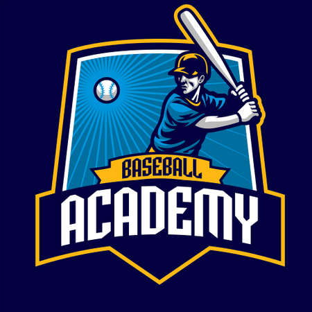 baseball badge academy design