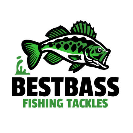 largemouth bass fishing tackles design