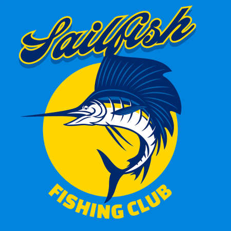 marlin sailfish fishing design