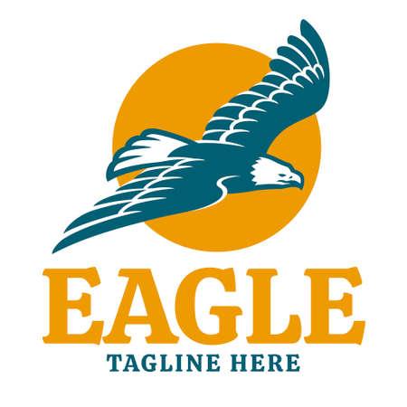 vector of flying eagle logo