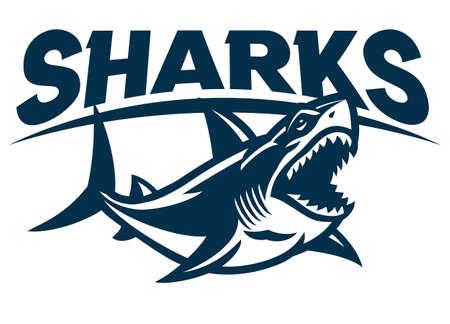 Great White Shark Mascot
