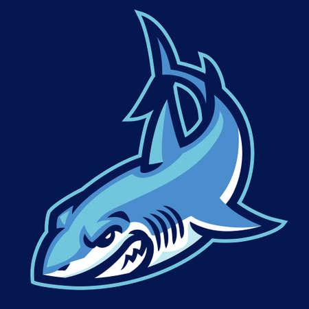 vector of Shark Mascot Sport