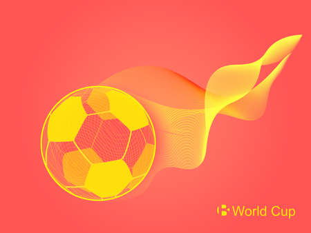 Vectorial material for the world cup