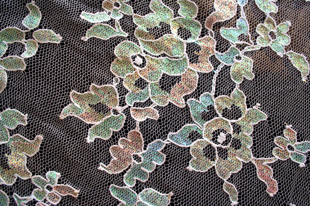 A high resolution image of vintage lace.