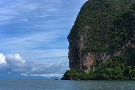 Island view In the Andaman Sea, Trang province, Thailand