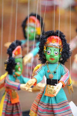 puppetry: Marionette,Kathmandu,Nepal Stock Photo