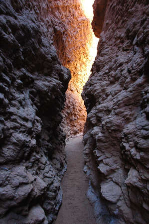 Landscape of a famous narrow canyon in Sinkiang China photo