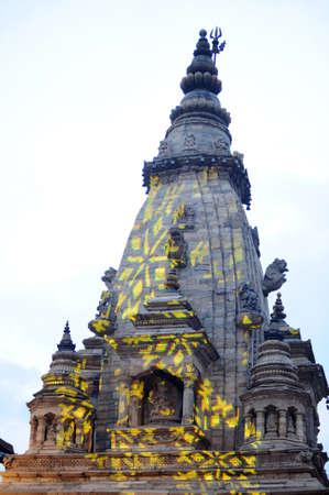 buddhist stupa: Landmarks of ancient buddhist stupa in Kathmandu Nepal