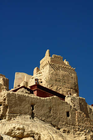 relics: Relics of a famous ancient castle in Tibet