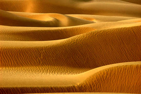 Scenery of desert textures in a sandhill photo