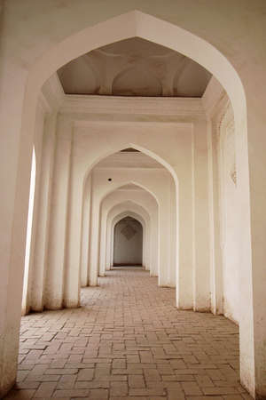Interior view of a typical Islamic building photo