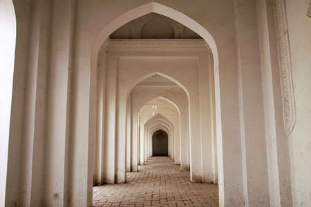 Interior view of a typical Islamic building