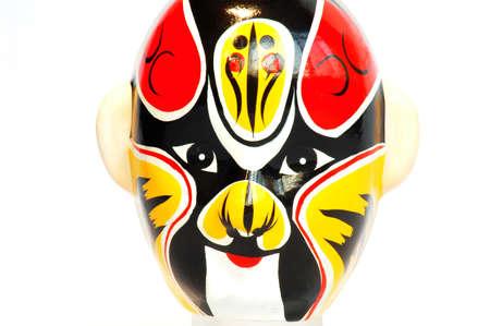 beijing: Closeup view of the art mask of Beijing opera Stock Photo