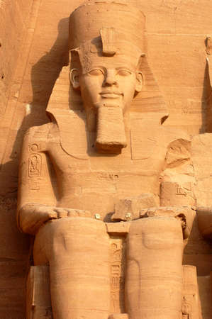 Temple of Ramesses II, Abu Simbel, Egypt. One of the ancient Egypts greatest monuments. photo