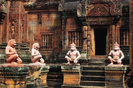 Ruins at Angkor,Cambodia Stock Photo - 9701239