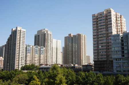 modern apartment buildings. Modern apartment buildings in China Stock Photo  10963001 Apartment Buildings In Picture And