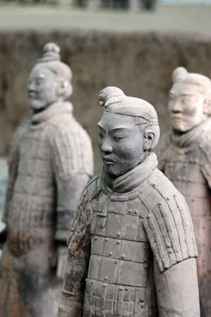dynasty: The famous terracotta warriors in Xian China
