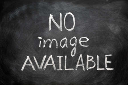 no image: No image available written in chalk on a blackboard