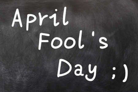 tonto: April Fools Day Foto de archivo