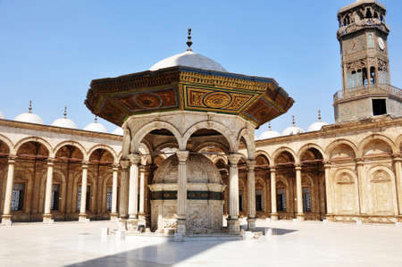 damascus: Scenery of the famous Omayyad Mosque in Damascus,Syria