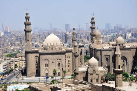 Landmark of the famous ancient castle in Cairo,Egypt photo