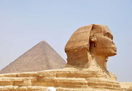 Famous site of Sphinx in Cairo,Egypt photo