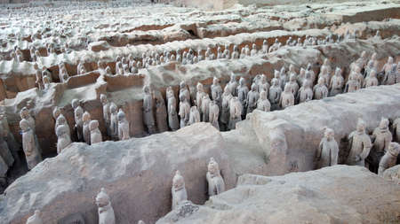 Terracotta Warriors and Horses in Xian, China