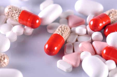 variety of pills Stock Photo - 15786816