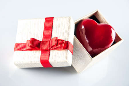 heart in a gift box photo