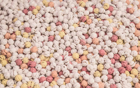 sugar-coated chickpeas as a background 스톡 콘텐츠