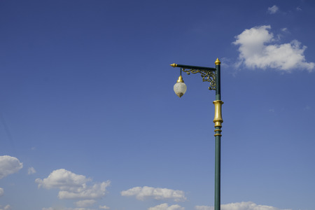 lamp post: Electric Street lamp post