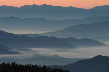 vistas: Apalachia vistas at sunrise2