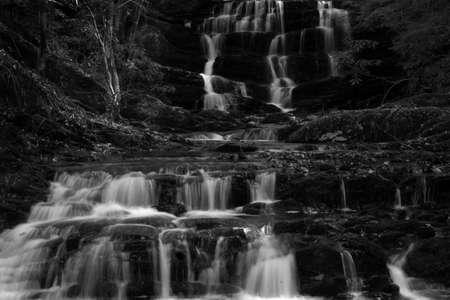 Waterfall at Cohutta wilderness near Jacks river photo