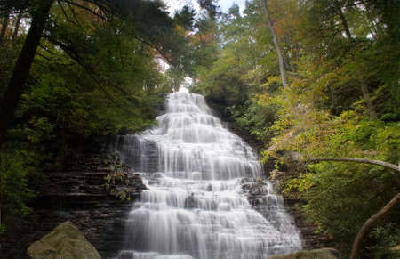 cascade: waterfall cascade