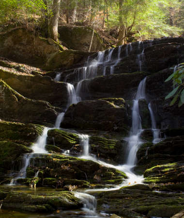 Waterfall at Cohutta wilderness near Jacks river photo