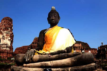ayuttaya: Buddha statue in Ayuttaya,Thailand