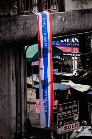 shutdown: Shutdown Bangkok @ Victory Monument Editorial
