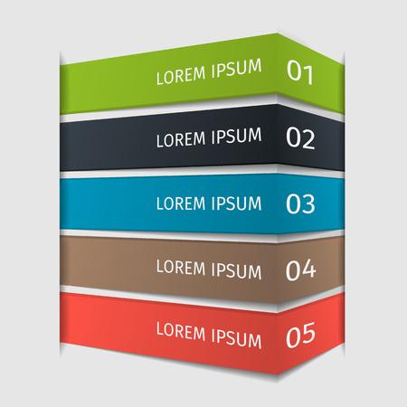 step up: Infographic design step up template. Vector illustration