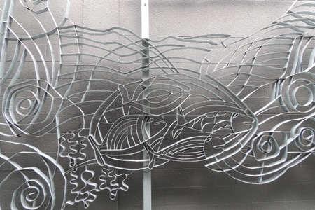 metalen kunst Redactioneel