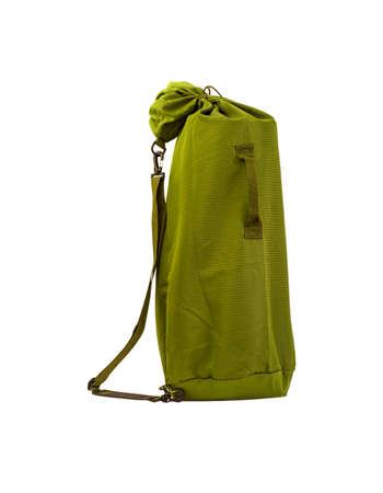 yoga mat: green bag for carrying yoga mats