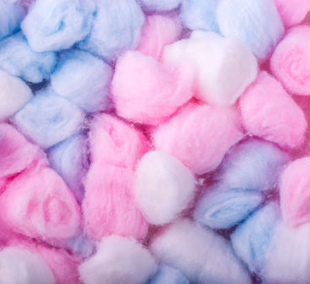 colore: New colore Cotton balls, abstact multicolored background
