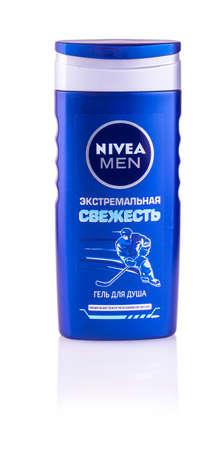 fortifying: Chisinau, Moldova January 28, 2017: Bottle of Nivea Men Shampoo