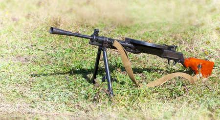 Soviet light machine gun