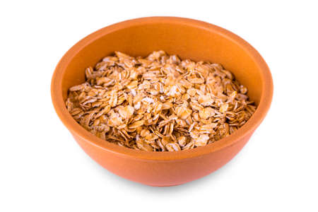 delicious and healthy  flakes, served in a beautiful French Cafe au Lait Bowl